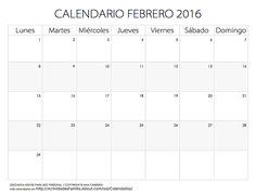 Fiestas y celebraciones para todos los meses del año: Celebraciones en febrero: Words, Counseling, Barbie, Monthly Calendars, Calendars 2016, 2016 Calendar Printable, Day Planners, Barbie Dolls, Horse