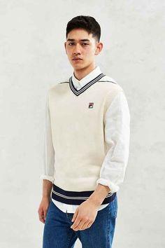 FILA Classic Sweater Vest
