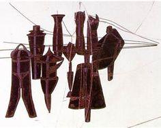 Nine malice moulds - Marcel Duchamp. 1915