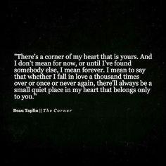 Goodbye, my first love... Seid guz zueinander... Macht euch glücklich.