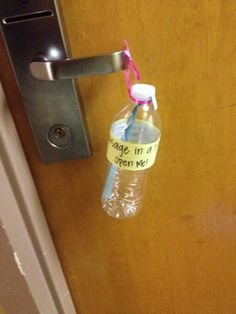 Miscellaneous Advertisement/Marketing Idea Sustainability Program advertisement - message in a bottle Advertising And Promotion, Creative Advertising, Ra Programming, Dorm Themes, Ra Bulletin Boards, Residence Life, Resident Assistant, Res Life, Get Educated
