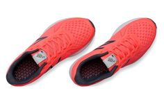 New Balance, Vazee Rush v2 in Guava with Black, $90 on sale for $80