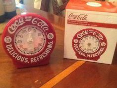 Coca-Cola collector 60 minute kitchen timer. Classic Coca-Cola