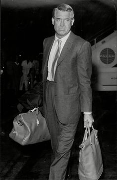 Cary Grant...looking tired