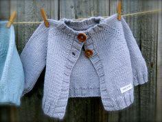 NobleKnits.com - Big Bad Wool Wee Baby Cardigan Knitting Pattern PDF, $6.95 (http://www.nobleknits.com/big-bad-wool-wee-baby-cardigan-knitting-pattern-pdf/)