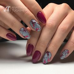 Gorgeous Nail Designs For Special Events Shellac Nails, Red Nails, Hair And Nails, Fabulous Nails, Perfect Nails, Cute Nail Designs, Acrylic Nail Designs, Pretty Nail Art, Simple Nails