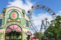 Dj Sound, Wiener Prater, Kaiser Franz, Dom, Ferris Wheel, Highlights, Fair Grounds, Travel, Vienna