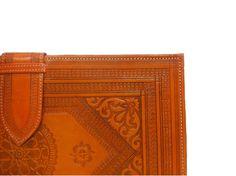 Heritage Orange Binder – Moroccan Corridor