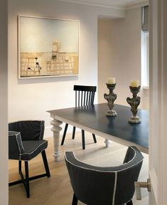 Еlegant Modern Living Space by TG   Studio modern look dining area