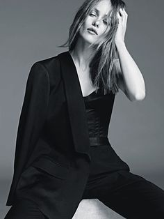 Les séries mode de l'année (3/10): Vanessa en noir et blanc                                                                                                                                                                                 Plus