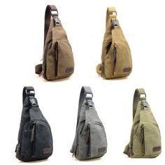 Mens Travel Hiking Single Strap Shoulder Crossbody Backpack Chest Military Bags #Unbranded #MessengerShoulderBag