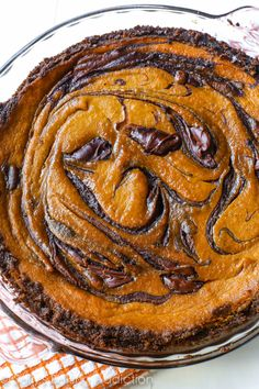 Want an upgrade to traditional pumpkin pie? Try my Nutella Pumpkin Pie recipe this Fall season!