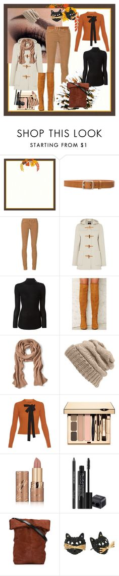 """""""Eclectic"""" by klm62 ❤ liked on Polyvore featuring rag & bone, AG Adriano Goldschmied, Gloverall, Balmain, Banana Republic, Leith, Rochas, tarte, Rodial and Ann Demeulemeester"""