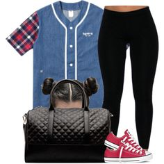 #OFTD 05.10.14 Converse { Chilling with my bae} ~Brianna, created by vintagetrillbrat on Polyvore