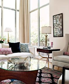Living room design: Sophisticated city sleek | Style at Home