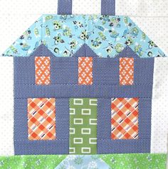 The Calico House Blog: Building permit # 12 | be my neighbor bom ... : quilt house patterns - Adamdwight.com