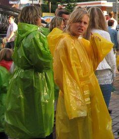 Raincoats.