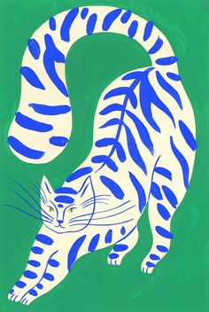 Portfolio of the Parisian illustrator Agathe Singer. Photo Wall Collage, Collage Art, Posca Art, Aesthetic Art, Cat Art, Art Inspo, Art Drawings, Abstract Drawings, Art Projects