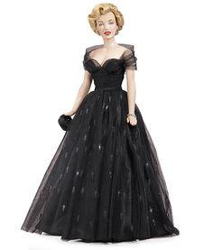 Marilyn Monroe Black Ballgown