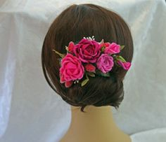Ribbonwork Accessory Wedding Floral Pin by AddABloomBoutique