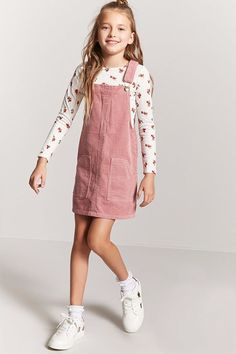 Outfits for kids Product Name:Girls Corduroy Overall Dress (Kids), Category:GIRLS_Dresses, Price:. Product Name:Girls Corduroy Overall Dress (Kids), Category:GIRLS_Dresses, Preteen Fashion, Girls Fashion Clothes, Kids Outfits Girls, Cute Outfits For Kids, Cute Casual Outfits, Kids Fashion, Girl Outfits, Fashion Outfits, Teenage Outfits