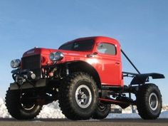 Vintage Trucks This 1950 Power Wagon Will Kill The Purists But It Is One Capable And Gnarly Off Road Machine Toyota Trucks, Dodge Trucks, Lifted Trucks, Dodge Pickup, Chevrolet Trucks, Chevrolet Impala, Cool Trucks, Fire Trucks, Cummins