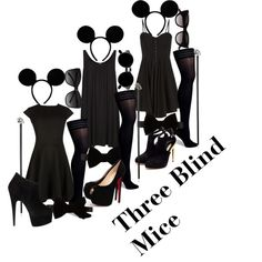 three blind mice costume