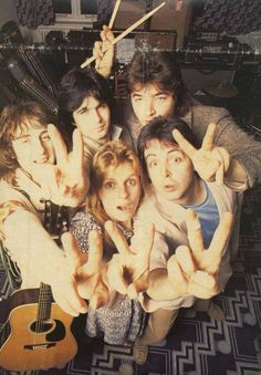 Paul McCartney and Wings.                                                                                                                                                                                 More