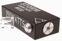 Vapor Joes - Daily Vaping Deals: THE STORM 150 WATT VV BOX MOD - $46.03