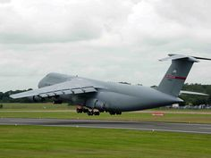 Lockheed C-5 Galaxy.  This is one amazing aircraft.