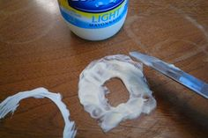 Use mayonnaise to erase water stains from wooden furniture... 35 tips that will change your life!  Awesomeness!!!