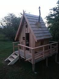 R sultat de recherche d 39 images pour cabane enfant en bois - Construction en palette de bois ...