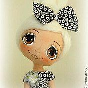 "Кукла ""Домовушка"" - коричневый,кукла,кукла интерьерная,кукла текстильная"