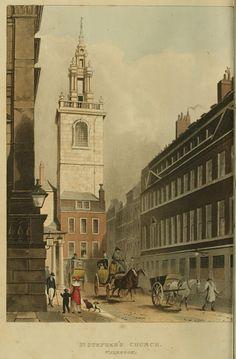 EKDuncan - My Fanciful Muse: Regency England - London Churches - Ackermann's Repository