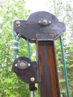 Welding Shop, Diy Welding, Metal Working Tools, Metal Tools, Metal Projects, Welding Projects, Water Well Drilling, Elevator Design, Small Tractors