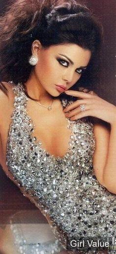 2572bc0fa1 Haifa Wehbe Arabian Beauty, Glamour, Stunningly Beautiful, Most Beautiful  Women, Beautiful People