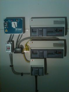 3 phase intake and distribution boards Plant Rooms