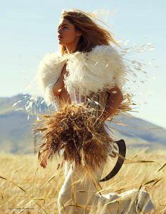 Vogue Netherlands September 2013 - Doutzen Kroes by Paul Bellaart 4-001