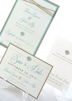 Wedding Save The Dates, Save The Date Cards, Our Wedding, Wedding Ideas, Trendy Wedding, Beach Theme Wedding Invitations, Wedding Stationary, Wedding Favors, Little Mermaid Wedding
