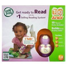 Leap Frog Tag Junior Reading System - Pink bigw $58