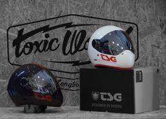 TSG helmets in Toxic World