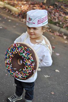 donut costume - CUTE!  sc 1 st  Pinterest & DIY Donut Costume for Halloween | Pinterest | Donut costume Donuts ...