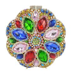 Crystal Evening Bag Roundness Luxury Clutch Bags Wedding Party Purse Prom Handbag Banquet Bag_14     https://www.lacekingdom.com/