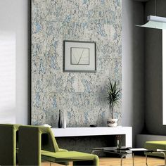 Dalle de liège murale, gris, l.60 x L.30 cm