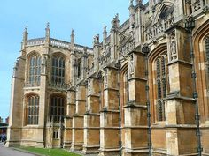 St. George Chapel at Windsor Castle....