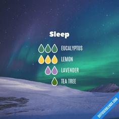 Sleep - Essential Oil Diffuser Blend #aromatherapysleepblends