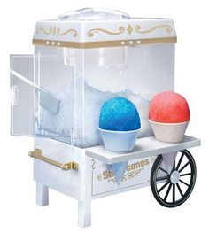 Nostalgia Electrics Old Fashioned Snow Cone Maker Only $22.99! - Spend With Pennies