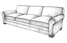 ID render: How to draw a sofa that looks comfortable