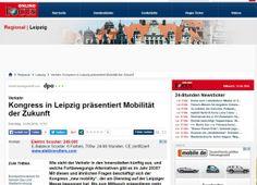 Kongress in Leipzig präsentiert Mobilität der Zukunft