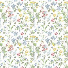 TAPET DURO JUNI MULTI 378-02 - Blommiga tapeter - Tapeter - Färg & Tapet